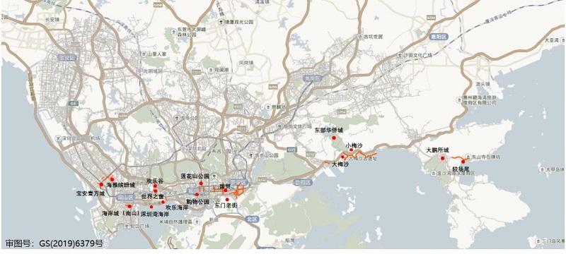 图 3 2021年春节假期热门景区商圈拥堵路段(预测).jpg